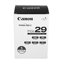 Canon PGI-29 5 Monochrome Pack of Ink Tanks for Inkjet Printer
