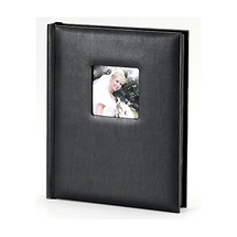 Tap Packaging Solutions Superior Mount Window Album 8x10 - 10 Pages (Black)