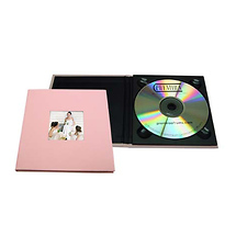 Tap Packaging Solutions CD Holder with 2x2 Front Cover Photo Window, Pink