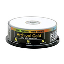 Inkjet Archival Gold CD-R 25 Pack Spindle