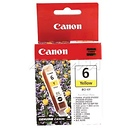 BCI-6Y Yellow Ink Cartridge for Canon BJC800, i9900, iP8500, iP4000R, iP5000, and iP6000D Printers