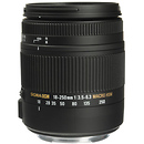 18-250mm F3.5-6.3 DC Macro HSM for Sony Alpha Cameras