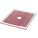 P068 Red Center Spot Series P Resin Filter