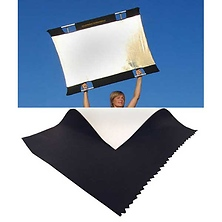 Sun-Bounce Mini 3' x 4' Black - Soft White with Frame, Screen & Bag Image 0