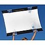 Sun-Bounce Mini 3 x 4' Kit With Frame, Silver/White Fabric and Bag