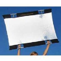 SunBounce Sun-Bounce Mini 3 x 4' Kit With Frame, Silver/White Fabric and Bag
