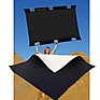Sun-Bounce Pro 4' x 6' Black - Soft White with Frame, Screen & Bag