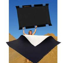 SunBounce Sun-Bounce Pro 4' x 6' Black - Soft White with Frame, Screen & Bag