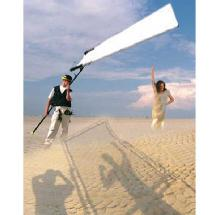 SunBounce Sun-Swatter Big 6' x 8' 2/3 Translucent with Frame, Screen, Shoulder Bag.
