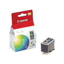 CL-41 Fine Color Ink Cartridge for the Pixma iP1600 and Pixma MP170 Photo Inkjet Printers Image 0