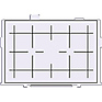 Focusing Screen Ee-D Precision Matte with grid for EOS-5D Digital SLR Camera