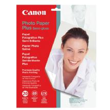 Canon Photo Paper Plus Semi-Gloss, 8.5 x 11