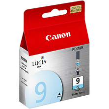 PGI-9PC Photo Cyan Lucia Pigment Ink Cartridge for Pro9500 Printer Image 0