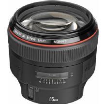 Canon EF 85mm f/1.2L II USM Autofocus Lens