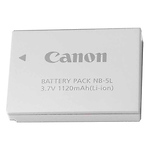 NB-5L Rechargeable Lithium-Ion Battery for Select Canon Powershot Cameras