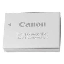 NB-5L Rechargeable Lithium-Ion Battery for Select Canon Powershot Cameras Image 0