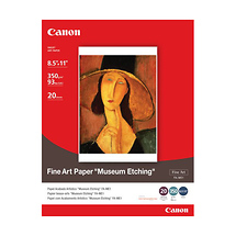 Canon Museum Etching Photo Paper, 8.5 x 11