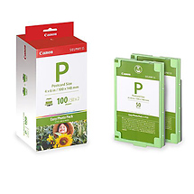 Canon E-P100 Ink and Ribbon Pack 100 Sheets