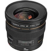 Canon EF 20mm f/2.8 Ultra Wide Angle USM AF Lens