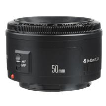 Canon EF 50mm f/1.8 II Autofocus Lens
