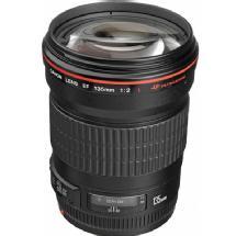 Canon EF 135mm f/2.0L USM Autofocus Lens