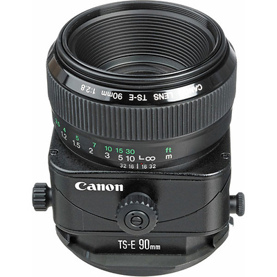 Telephoto Tilt Shift TS-E 90mm f/2.8 Manual Focus Lens for EOS Image 0