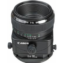 Canon Telephoto Tilt Shift TS-E 90mm f/2.8 Manual Focus Lens for EOS