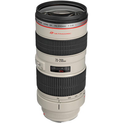 EF 70-200mm f/2.8L USM Telephoto Zoom Lens Image 0
