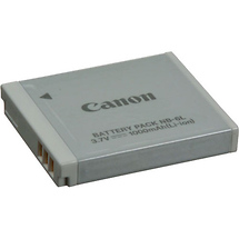 Canon NB-6L Rechargeable Lithium-Ion Battery for Select Canon Powershot Cameras