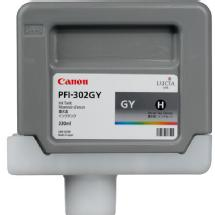 Canon PFI-302G Gray Ink for Canon imagePROGRAF Printers