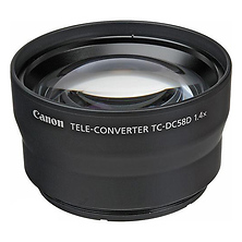 TC-DC58D 1.4x Teleconverter Lens for Select PowerShot Cameras Image 0