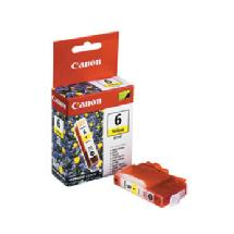 Canon BCI-6Y Yellow Ink Cartridge for Canon BJC800, i9900, iP8500, iP4000R, iP5000, and iP6000D Printers