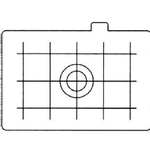 Canon Focusing Screen Ec-D Matte with Grid for EOS Series Cameras