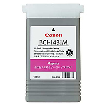 Canon BCI-1431M PG Magenta Ink Tank for imagePROGRAF W6400 Printer (130ml)