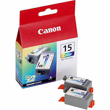 BCI-15C Color Ink Cartridge for Canon i70 and i80 Photo Ink Jet Printers Image 0