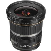 Canon EF-S 10-22mm f/3.5-4.5 USM Autofocus Lens