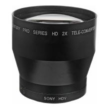 Century Optics 2.0x Tele Converter Auxiliary Lens for Sony HD Camcorders