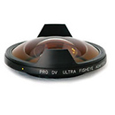 0.3x Ultra Fisheye Auxiliary Lens for Canon HD Camcorders