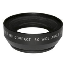 Century Optics 0.8x Wide Angle Converter Auxiliary Lens with 72mm Rear Thread for DV / HDV Cameras