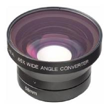 Century Optics .65X Wide Angle Converter Lens for Sony Camcorders