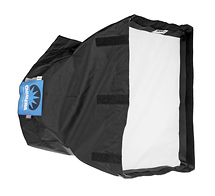 Chimera Super Pro Plus Softbox, Silver Interior, Small - 24x32in.