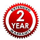 2 Year Extended Service Protection Plan - For Items Valued $0-$149.99
