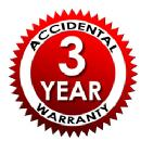 3 Year Accidental Damage Plan - For Items Valued $0-$149.99