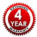 4 Year Extended Service Protection Plan - For Items Valued $300-$399.99