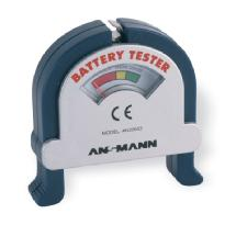 Ansmann NiCd NiMH alkaline rechargeable battery checker