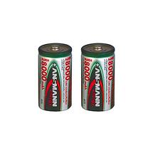 Ansmann High Capacity D NiMH Battery (8000mAh, 2 Pack)