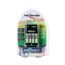 Ansmann Powerline 4 Maxe PLUS with 4 AA Batteries