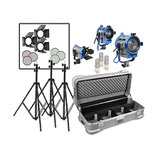 150/300/650 Lighting Kit with wheeled case Image 0