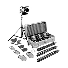 Fresnel Tungsten 4 Light Kit Image 0