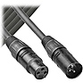 AT831410 3-pin XLR Male to 3-pin XLR Female Balanced Cable - 10 ft